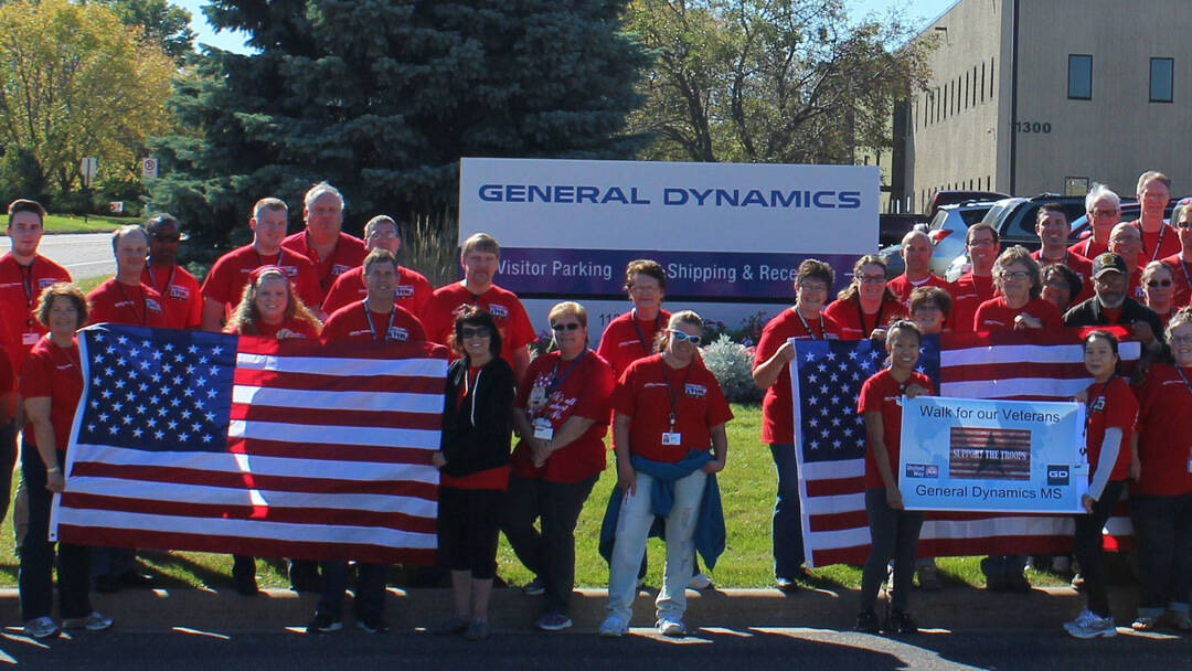 General Dynamics Community Investment Red Shirt Day