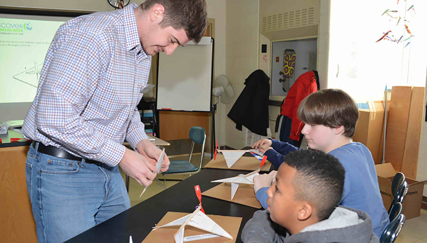 Community investment STEM Engineers