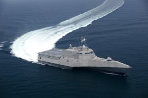 Maritime - Littoral Combat Ship LCS USS Independence Building Trials - July 2009