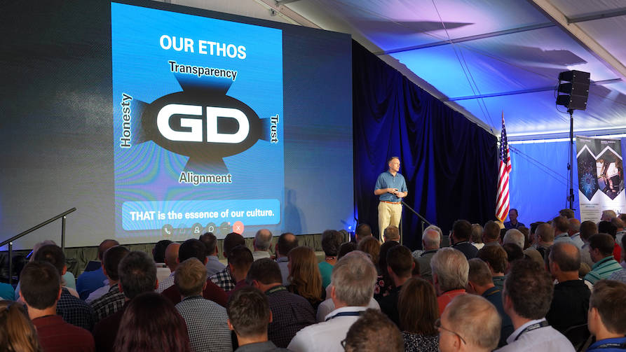 Chris Brady Presents General Dynamics Ethos