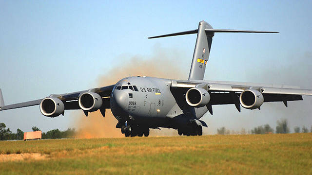 US Air Force - C-17 Globemaster III Aircraft