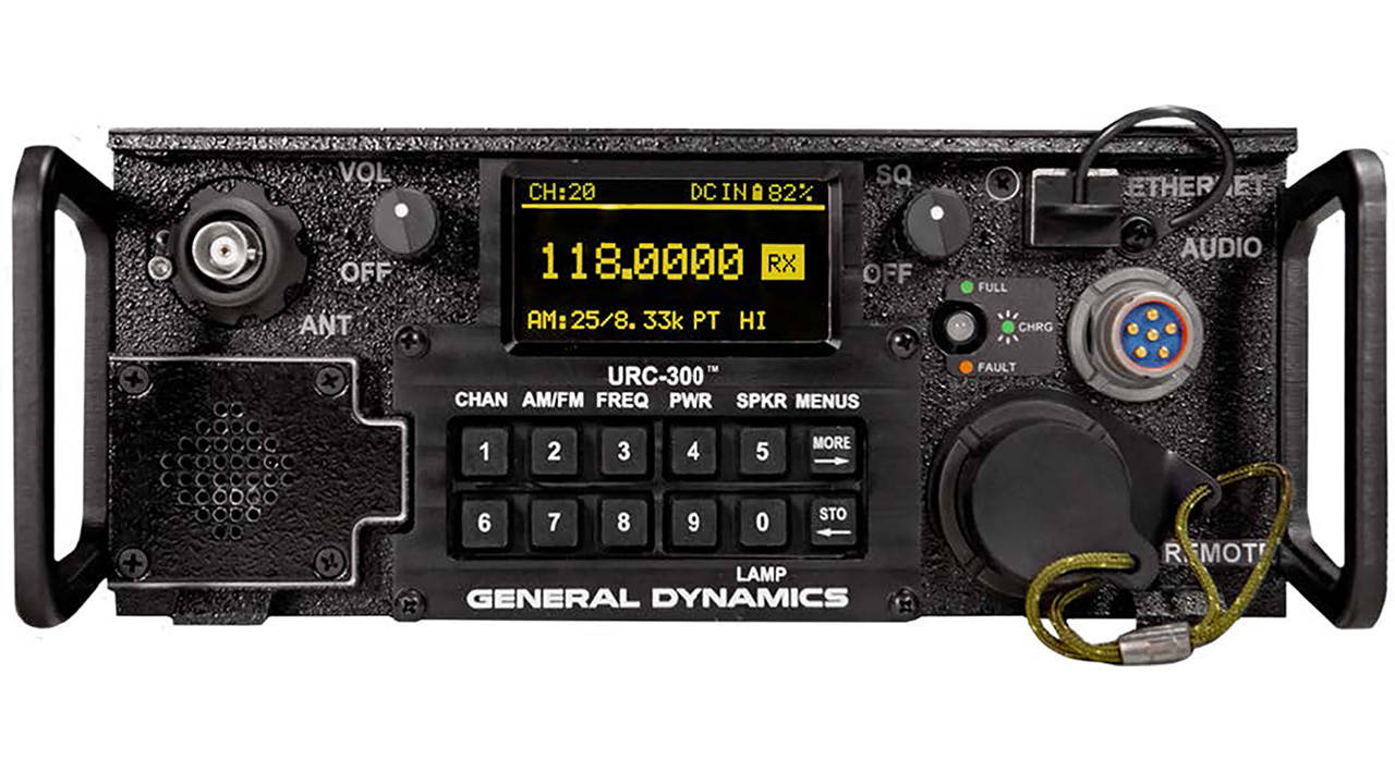 General Dynamics URC-300 Transceiver