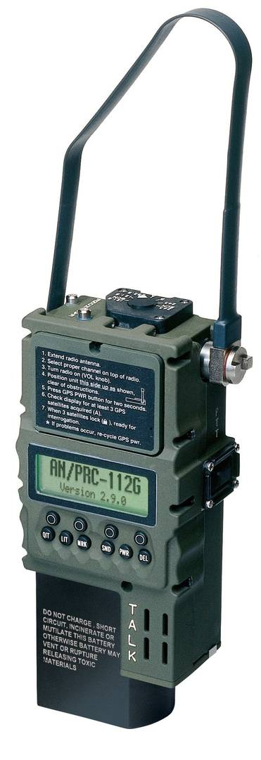 Radio Communications - HOOK-2 PRC-112G Transceiver Carousel 1