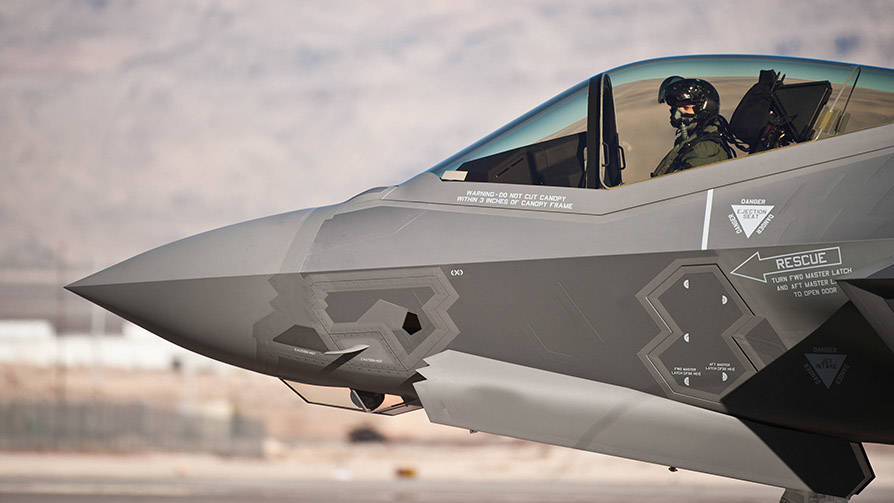 Military Aircraft Radomes - F-35 2