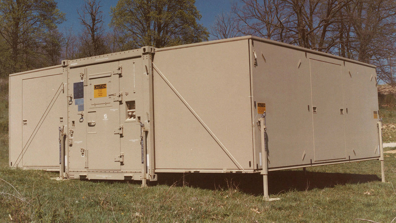 General Dynamcis Shelters Army ASF Ext