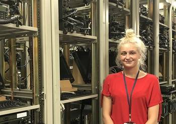 General Dynamics UK Intern Bethan