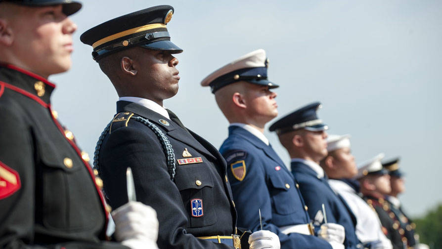 Veterans Honor Guard Careers Landing Page