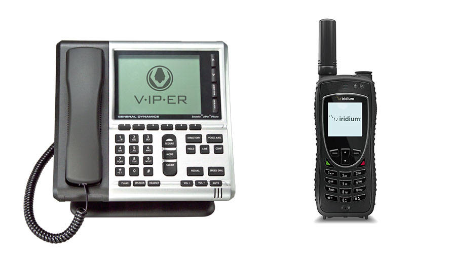 Viper and Iridium Secure Voice Cut-Outs