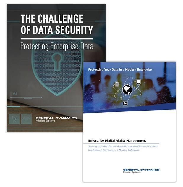General Dynamics Enterprise Data Security Whitepaper Covers