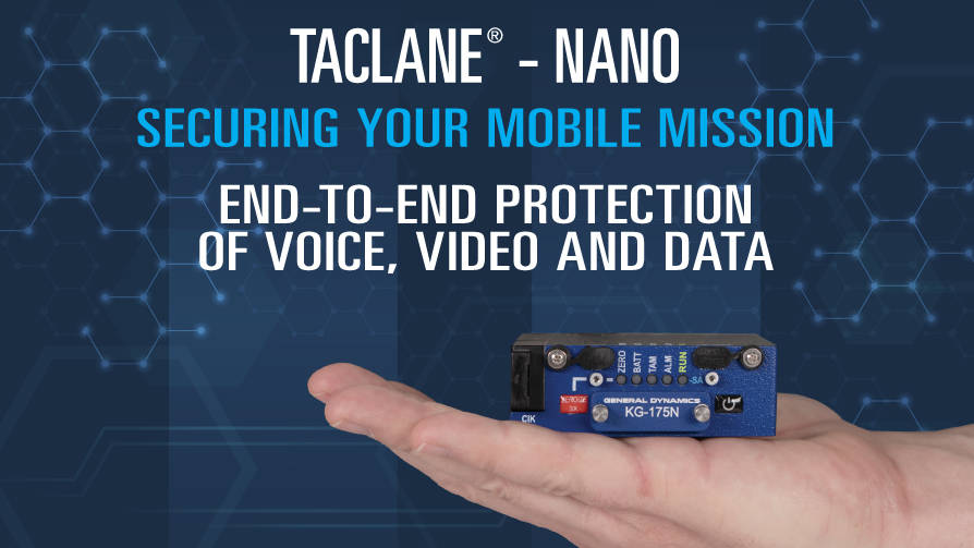 Image of TACLANE-Nano in a hand