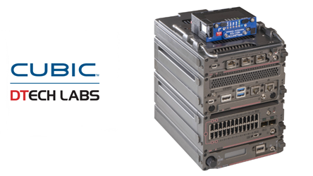 TACLANE-Nano with DTECH M3X Series networking module