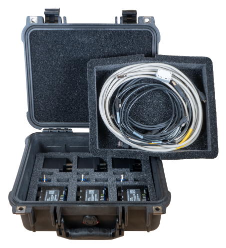 TACLANE-Nano Ruggedized Kit - Open Case View