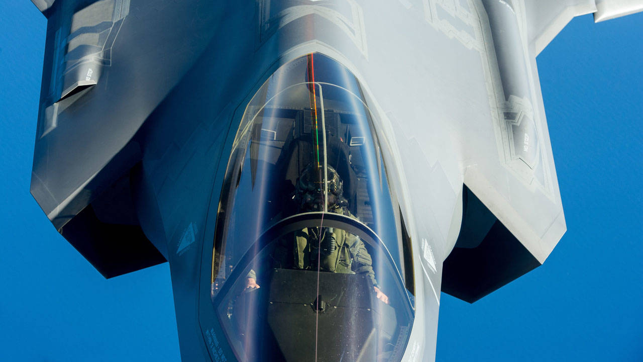 Airborne Systems F-35 Close Up