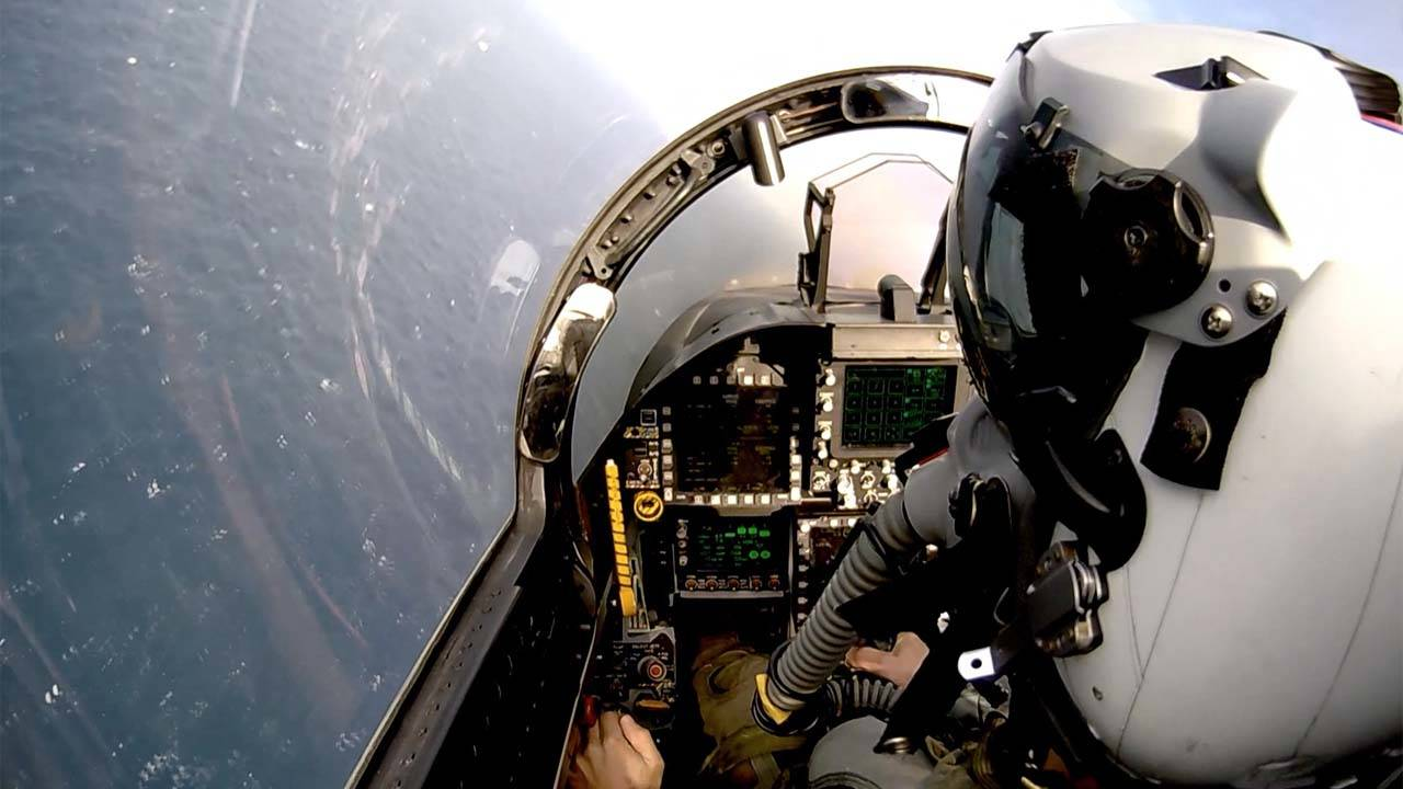 Airborne Systems FA-18 Cockpit