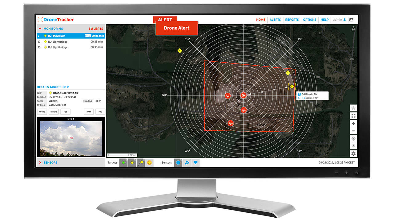 Drone Tracker Counter UAS Software