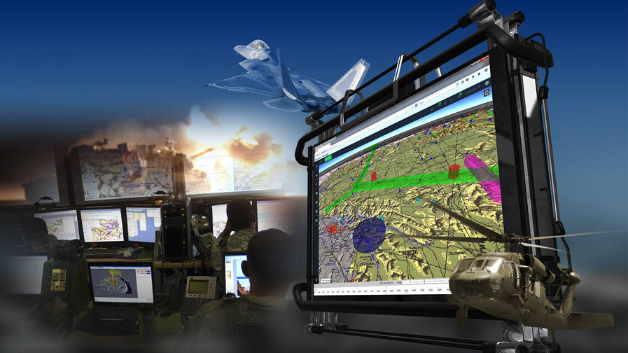 Tactical Airspace Integration System TAIS Graphic