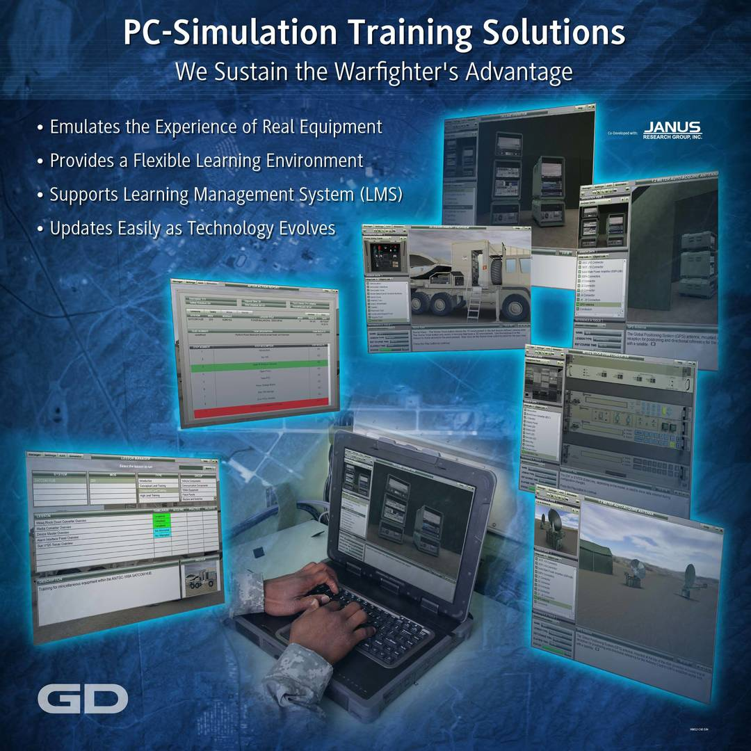 C4ISR - PC Simulation Training Solutions Tradeshow - Image