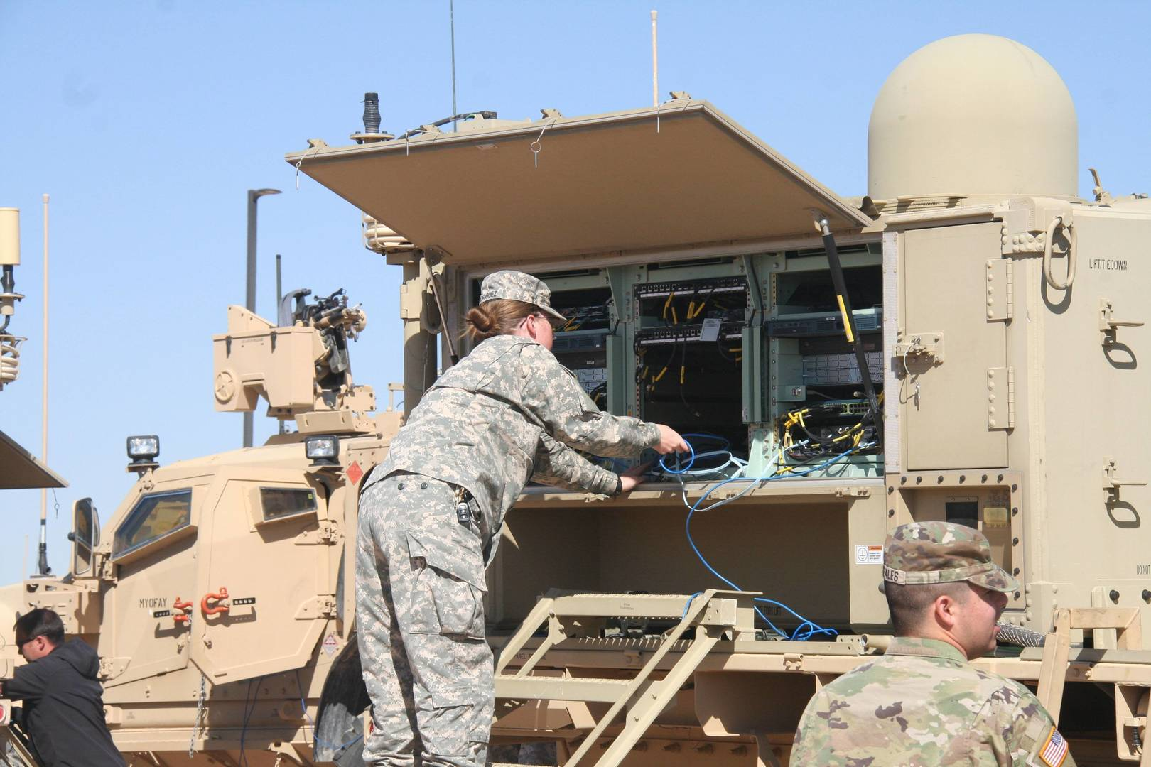 The Soldier's Network - Rapid Vehicle Provisioning System Improves Readiness and Security