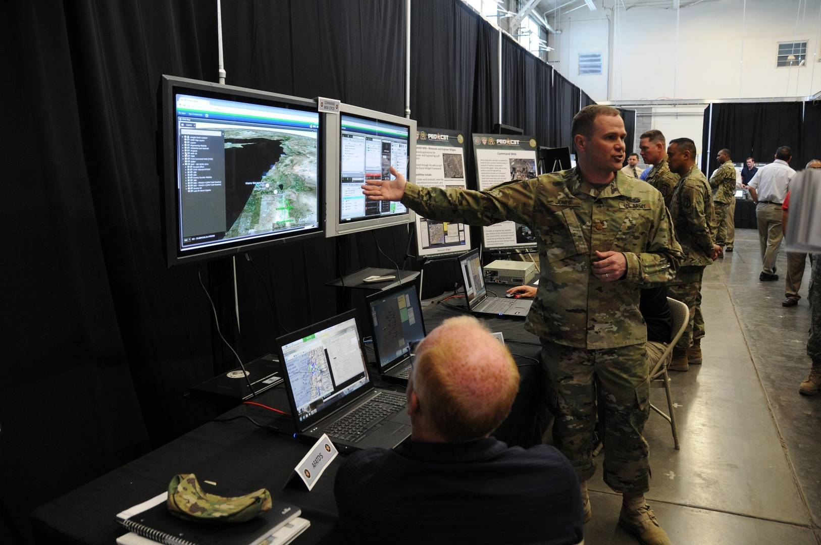 The Soldier's Network - Army Enhances Network Operations, the Eyes and Ears of the Network