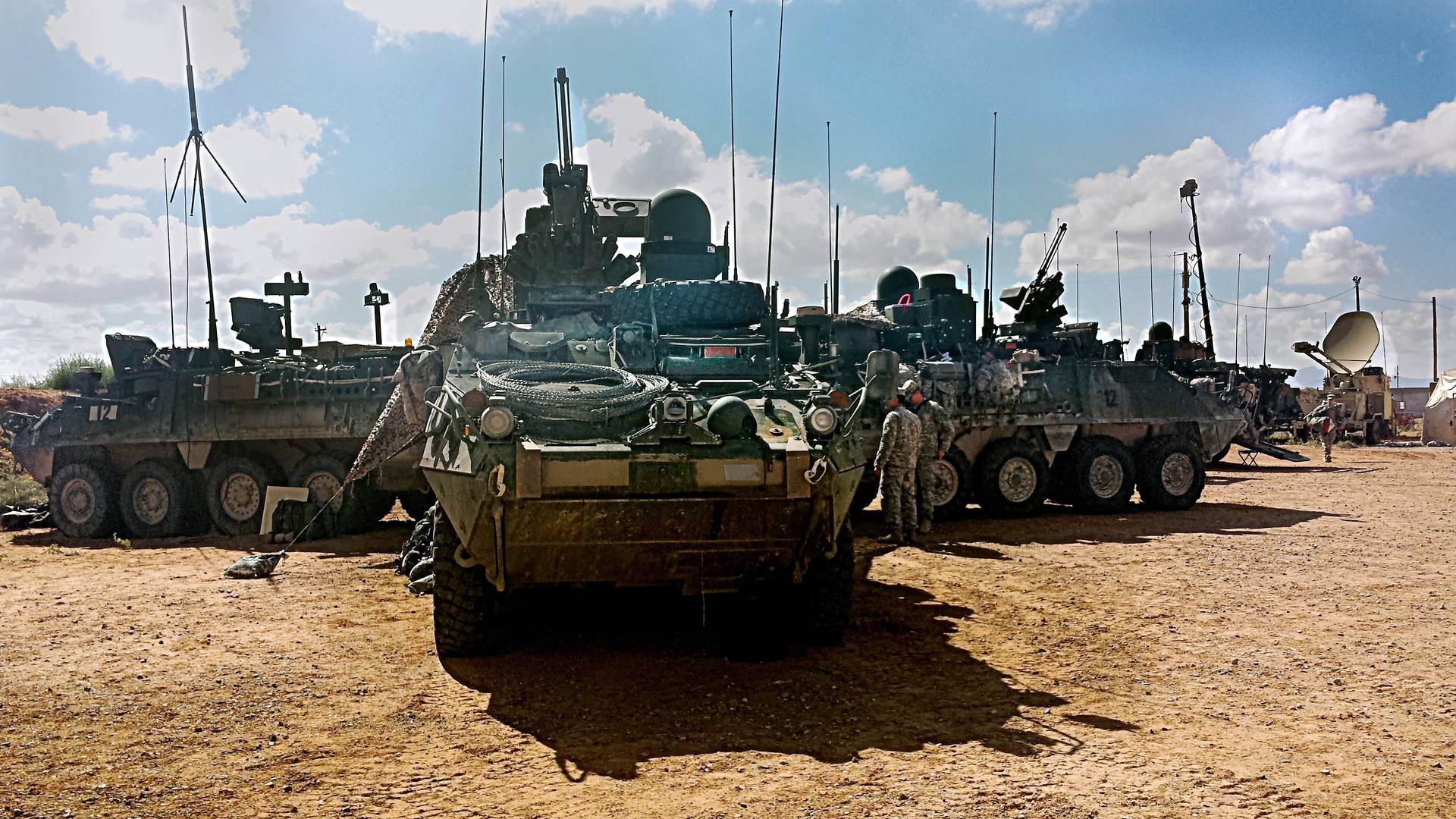 The Soldier's Network - 1st Armored Division Stryker Brigade Trains on Army's Mobile Network