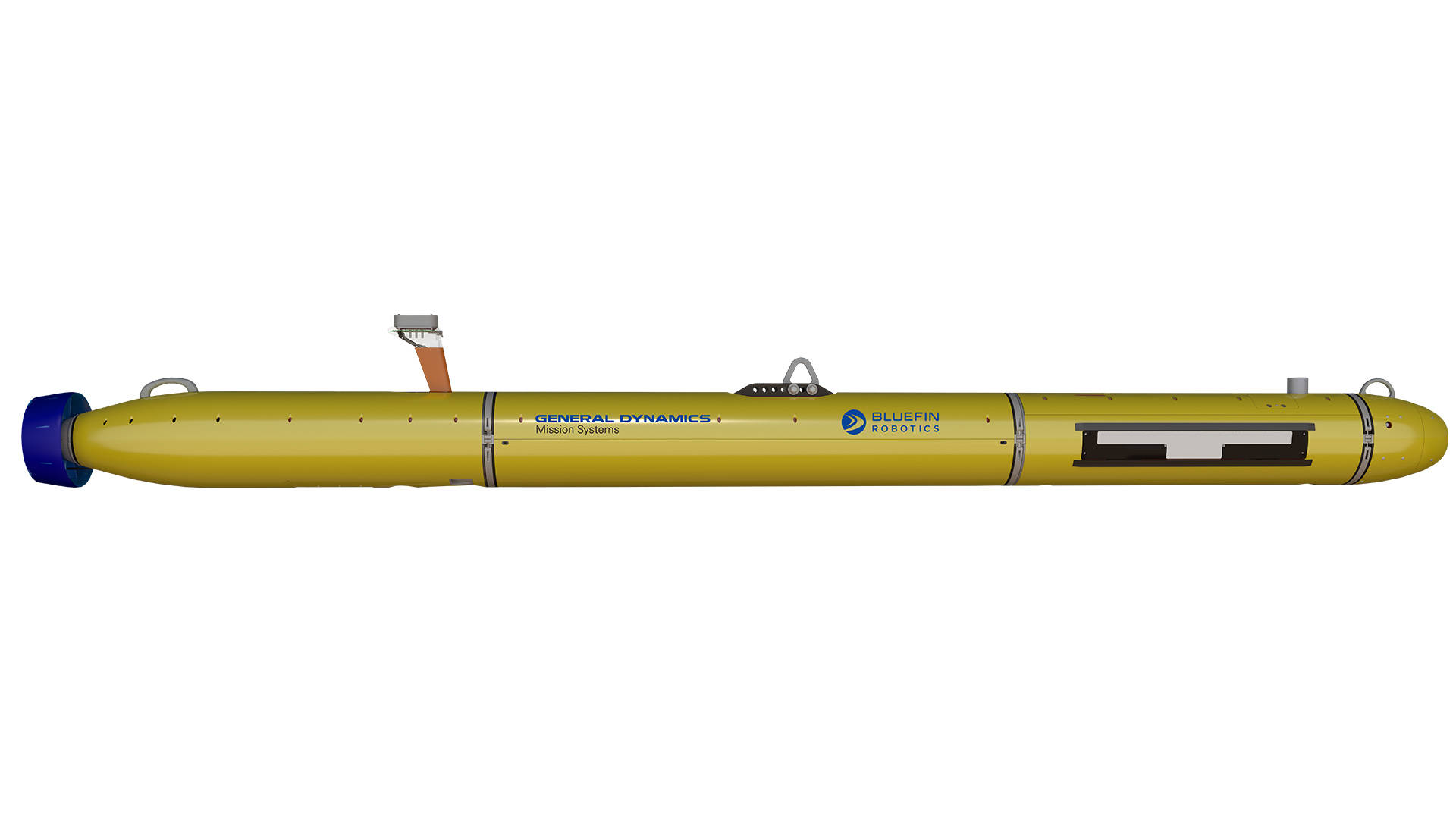 Bluefin-12 UUV Product Cut Out Grid