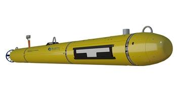 Bluefin-12 UUV Product Cut Out Right Front