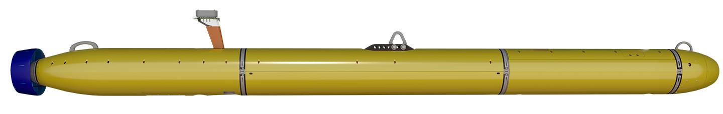 Bluefin-12 UUV Without Optional Payload