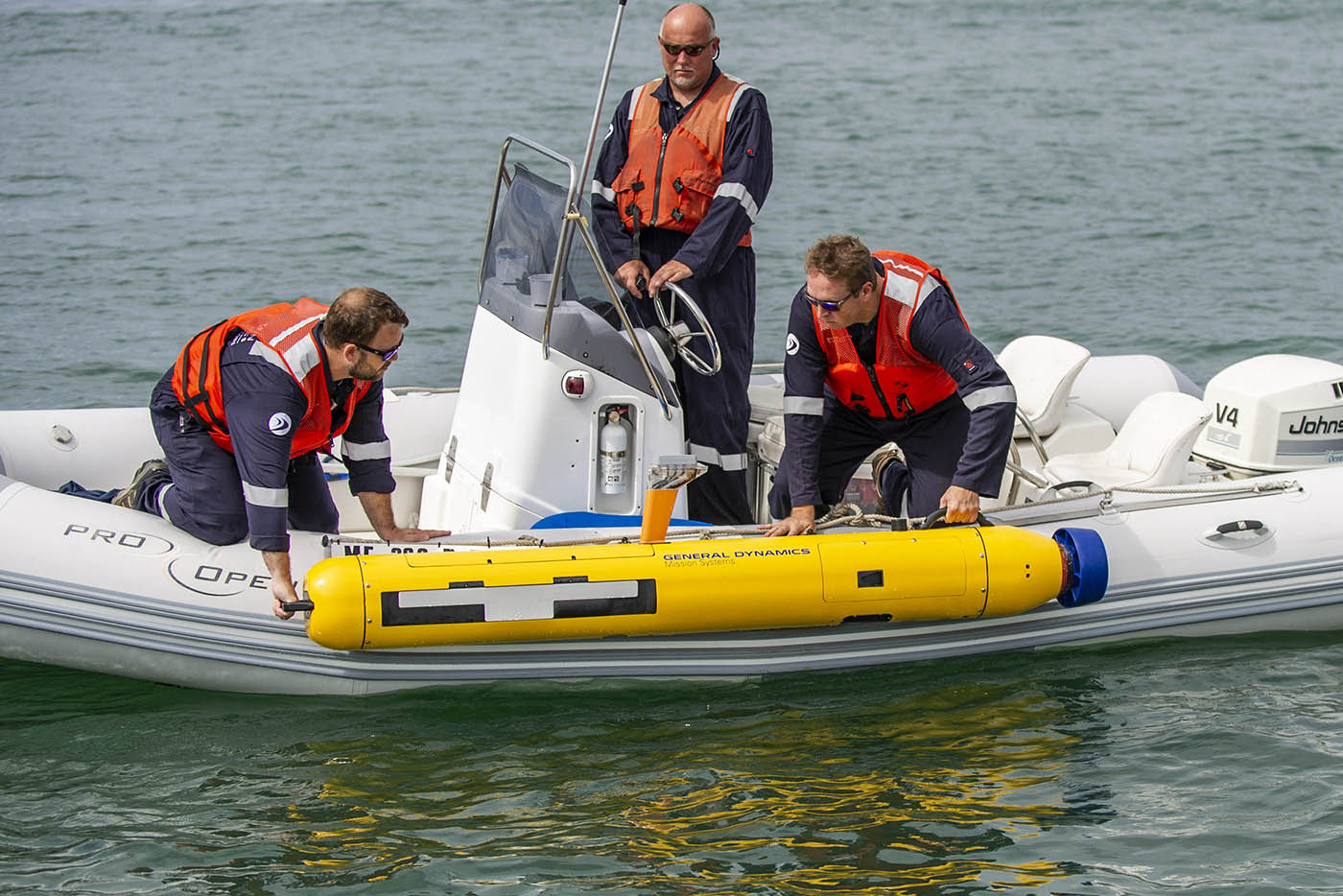 General Dynamics Launches Latest Unmanned Underwater Vehicle