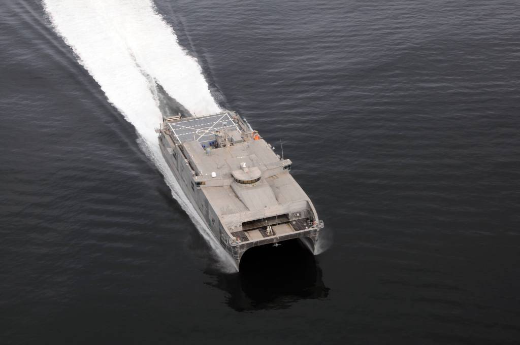 Maritime - Joint High Speed Vessel (JHSV) Carousel 1 - Image