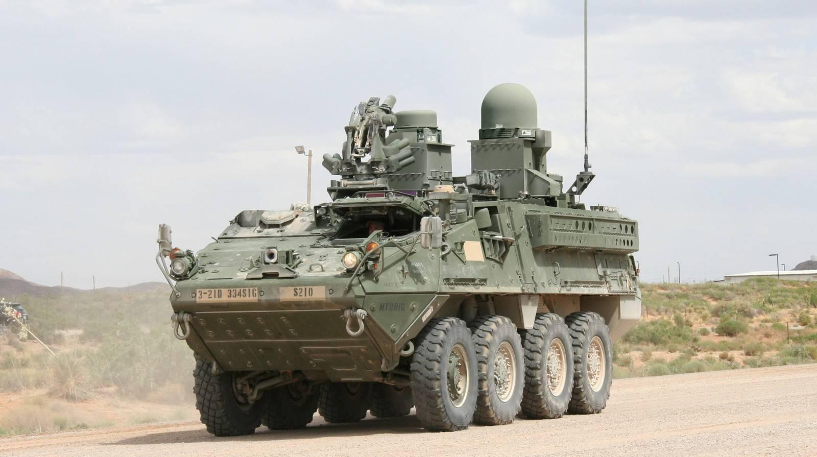 Soldier S Network Update Stryker Brigades Receive General