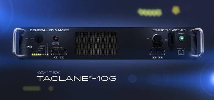 General Dynamics TACLANE-10G Encryptor