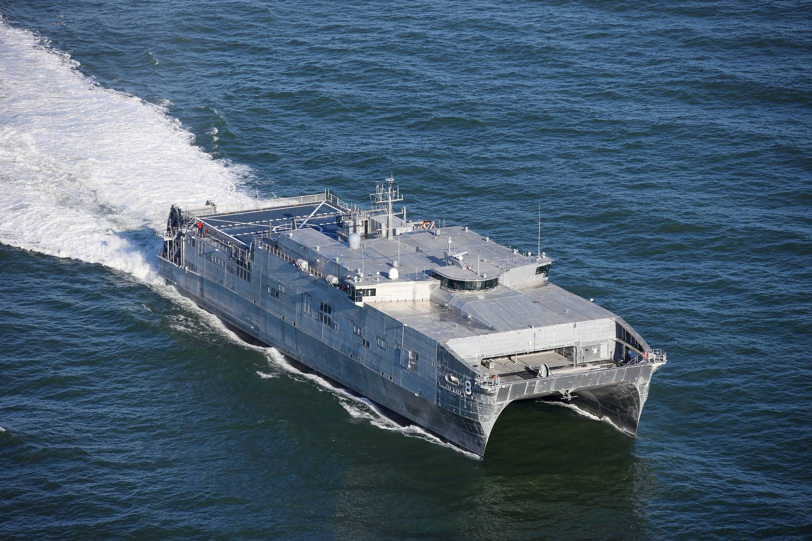 Expeditionary Fast Transport Usns Yuma Completes