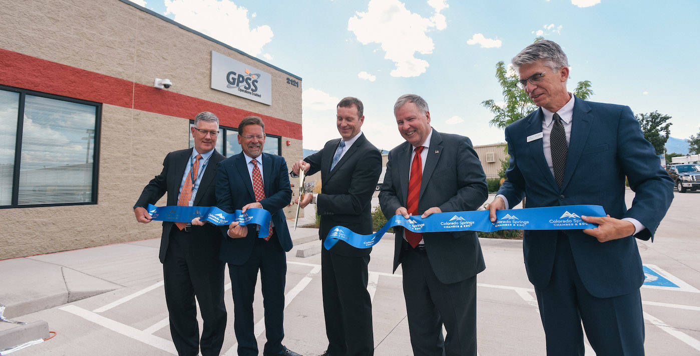GPS Source Facility Ribbon Cutting