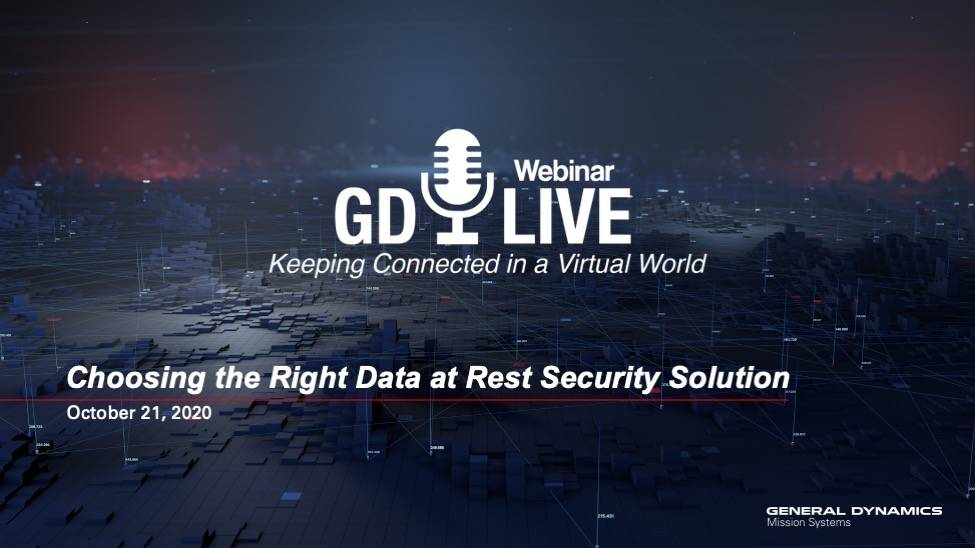 Webinar: Choosing the Right Data at Rest Security Solution