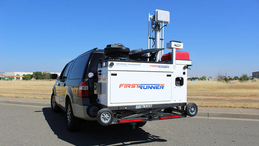 FirstRunner Compact Deployable FirstNet Compliant LTE System