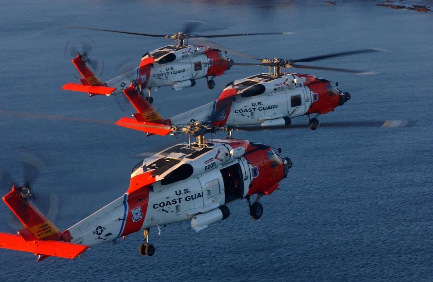 C4ISR - MH 60s In Formation - Image