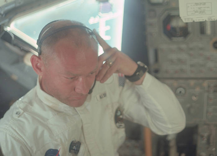 NASA Apollo 11 Buzz Aldrin and Lunar Module Interior Preview