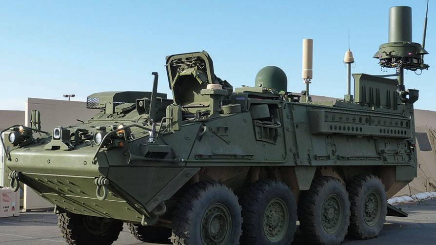 General Dynamics TEWS Stryker right side